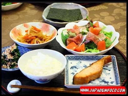 Alimentação japonesa