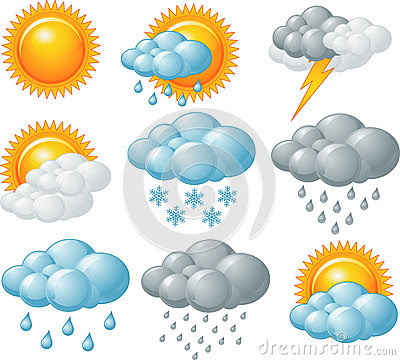 Weather Icons Royalty Free Stock Photo - Image: 31340215