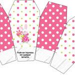 Caixa China in Box Páscoa para Meninas: