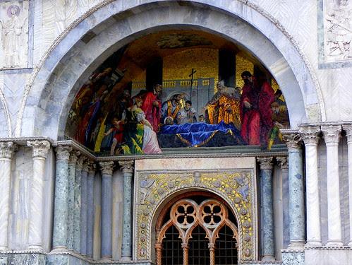 St. Mark's Basilica - Exterior Mosaic