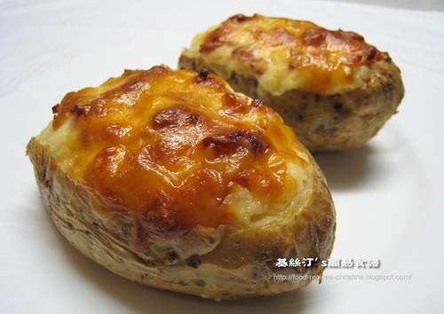 二焗馬鈴薯 Twice Baked Potatoes