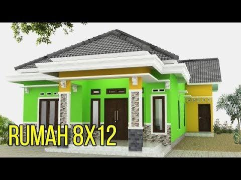 desain rumah ukuran 12 x 8 - sekitar rumah
