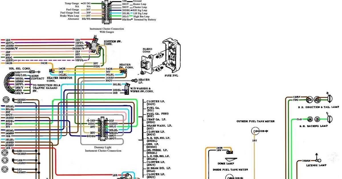 71 Chevy Truck Fuse Box Schematic And Wiring Diagram