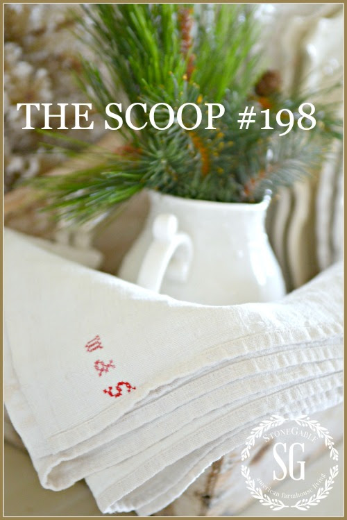 THE SCOOP #198- Find hundreds of great home and garden and seasonal posts all in one place!