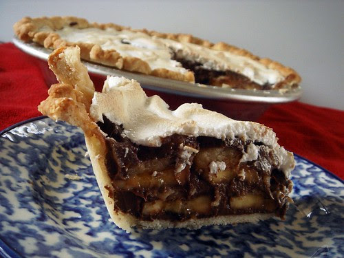 chocolate banana pudding pie and product review