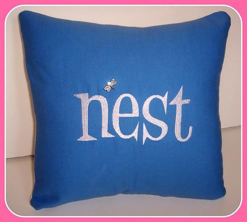 nest - pillow cover