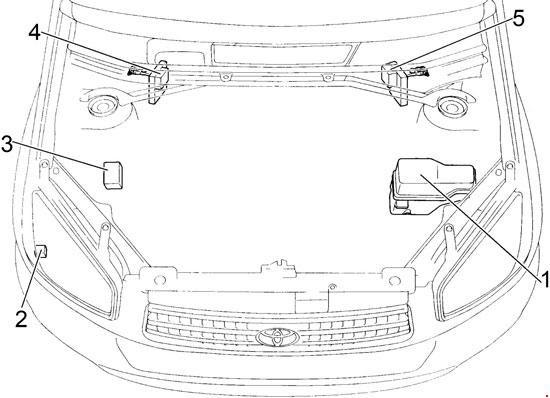 00 05 Toyota Rav4 Xa20 Fuse Diagram