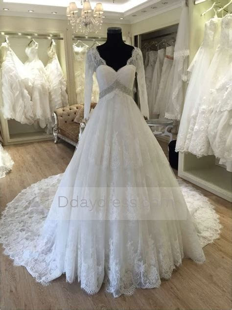 Save one 2016 Maternity Wedding Dress Pregnant Long Sleeve