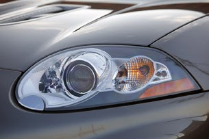 2011 Jaguar XKR Convertible headlight