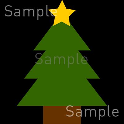 もみの木の無料イラスト素材登録不要のイラストぱーく