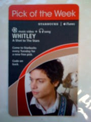 Starbucks iTunes Pick of the Week - Whitley - A Shot to The Stars