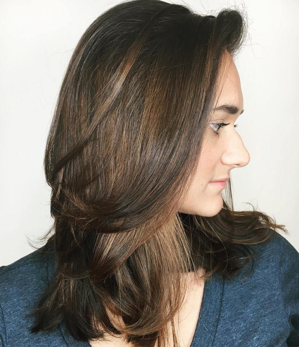 Shoulder Length Haircut For Thick Hair