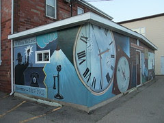Sussex inventor mural