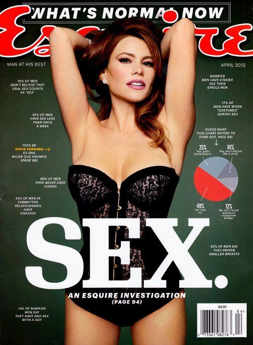 Esquire - April 2012, Sofia Vergara