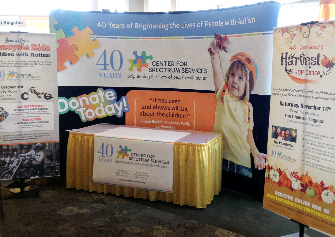 Most Original Booth Design At 2015 Buy Local Expo Colorpage