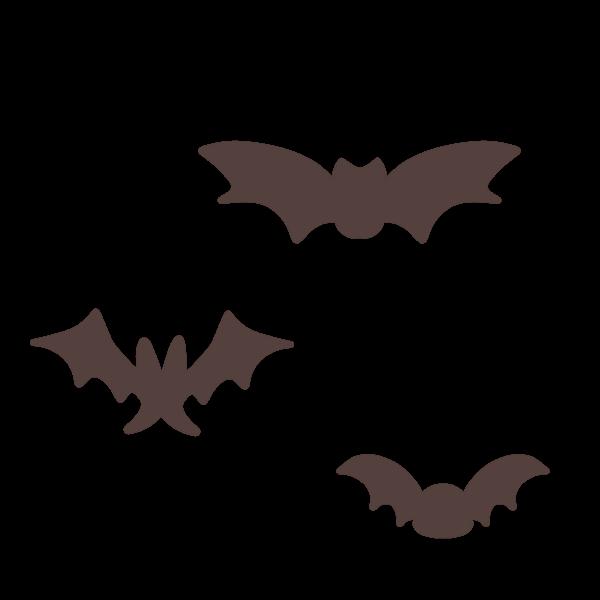 コウモリのイラスト かわいいフリー素材が無料のイラストレイン
