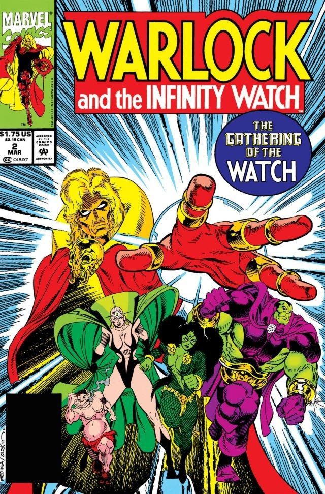 Image result for Warlock & The Infinity Watch