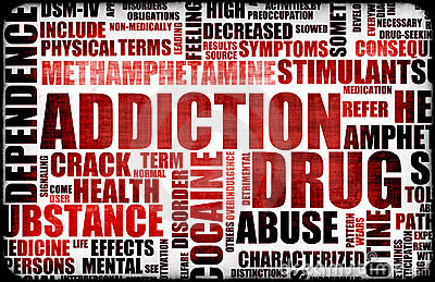 Red Drug Addiction Royalty Free Stock Photos - Image: 9847058