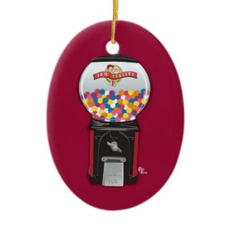 Gumball Machine Holiday Ornament