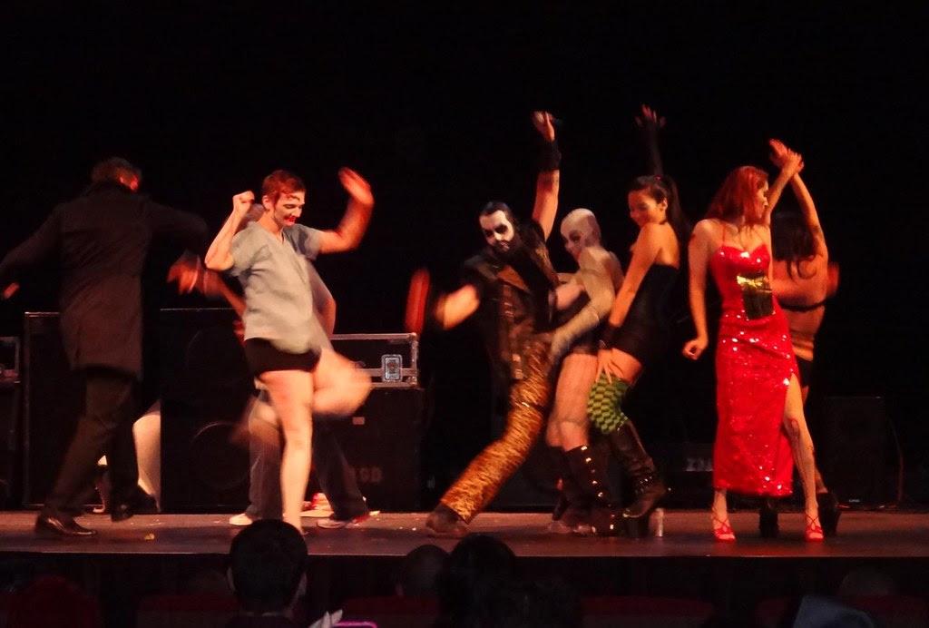 Feast of Flesh 2012 Coolidge Corner zombie dance off