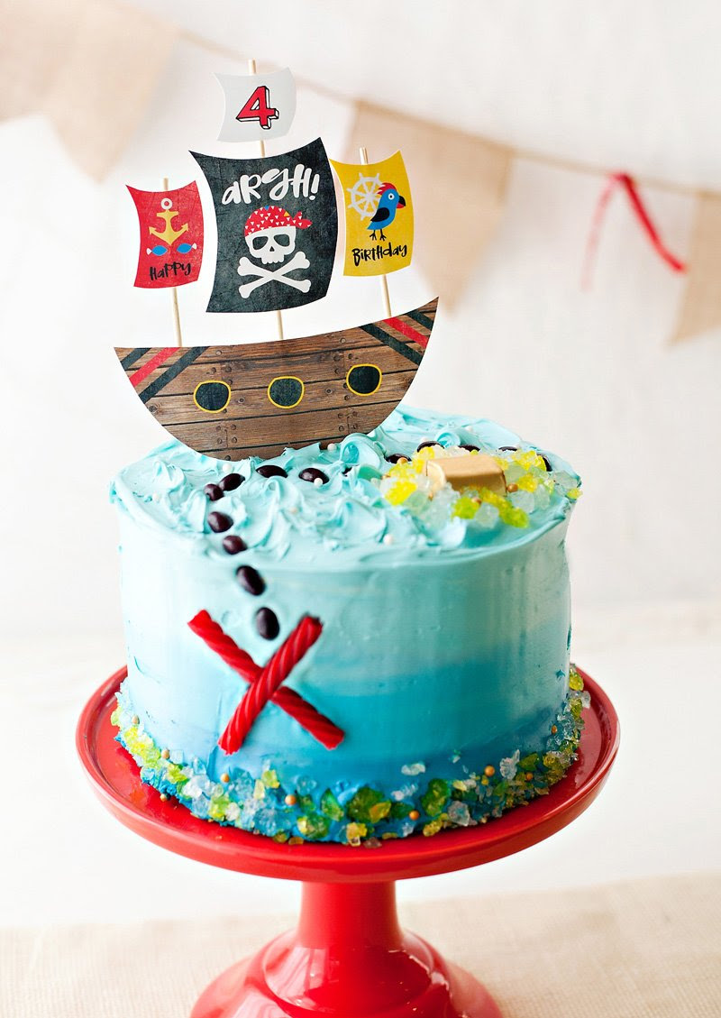 Super Happy Birthday Pirate Cake Top Birthday Cake Pictures Photos Funny Birthday Cards Online Alyptdamsfinfo