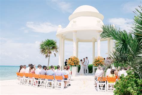 A Beach Destination Wedding at Grand Palladium Resort
