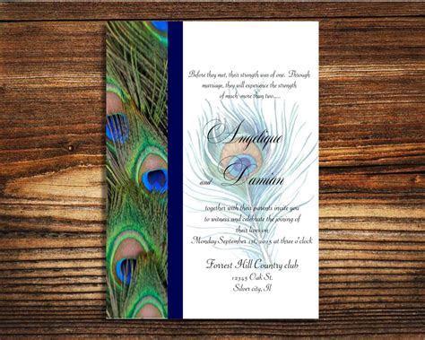 wedding invitations Peacock wedding invite   Wedding Ideas