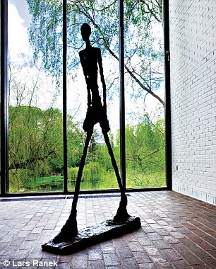 Check out the wing of the gallery that's been given over to Alberto Giacometti's spindly bronze figures, including Walking Man