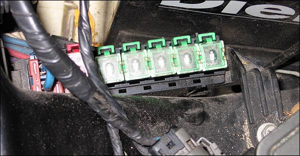 Photo Guide To The Z32 Fuses