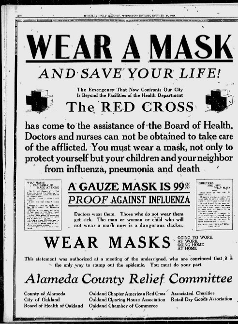 Newspaper Ads on the Spanish Flu Echo Coronavirus Messaging | Time
