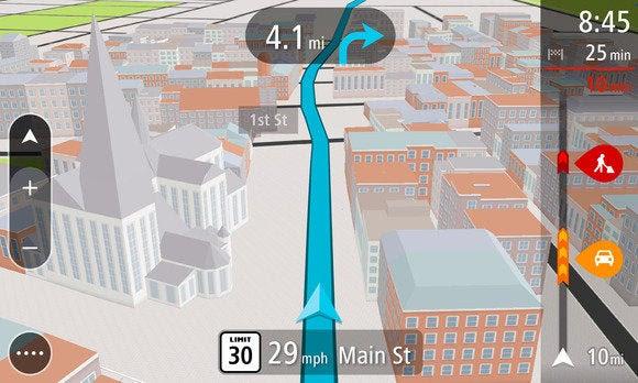 TomTom GO 3d mapa jan 2014