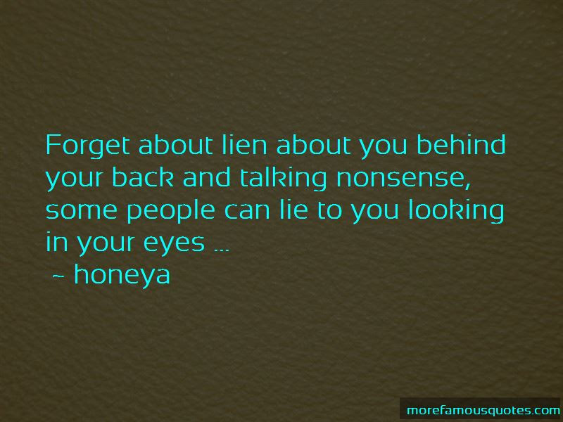 Quotes About People Talking About You Behind Your Back Top 3 People
