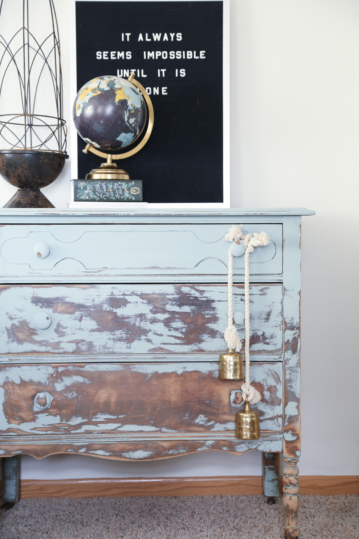 Homestead Distressed and Painted Furniture Inspired By Balayage