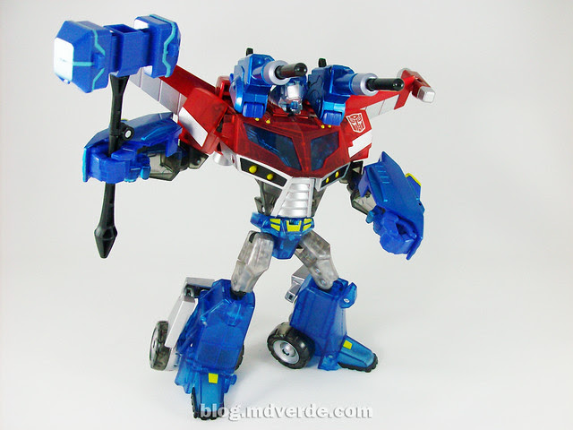 Transformers Wingblade Optimus Prime Animated Takara - modo robot