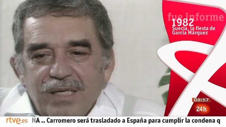 Fue informe - Suecia, la fiesta de García Márquez