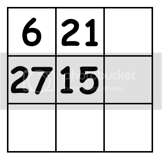 3 by 3 grid Puzzle 2