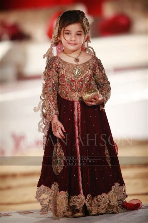 Kids Fancy dresses 2016 in Pakistan velvet