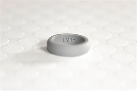 Silicone rings are perfect for people that want to still