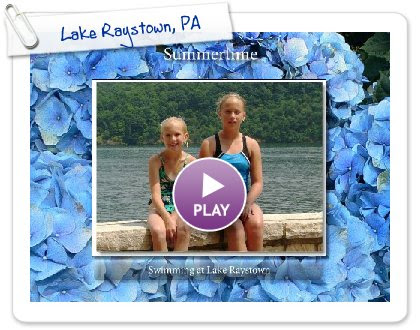 Click to play this Smilebox slideshow: Lake Raystown, PA