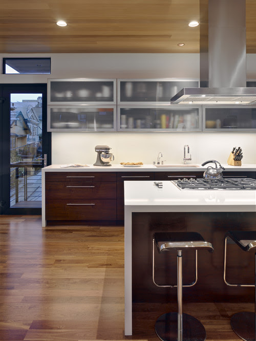 Bernal Heights Residence contemporary kitchen wood tones