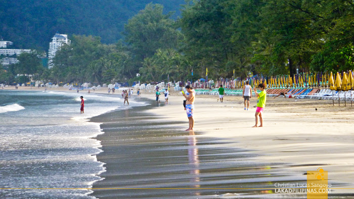 Early Morning at Phuket's Patong Beach