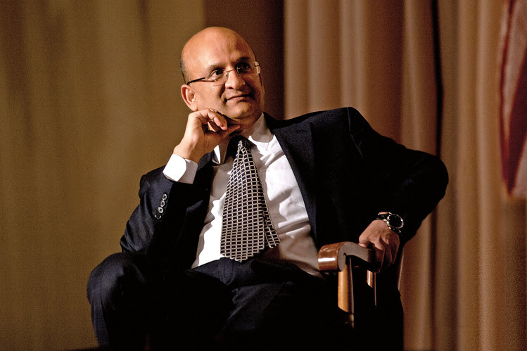 Indian-born Nitin Nohria is the first Asian dean of Harvard Business School.