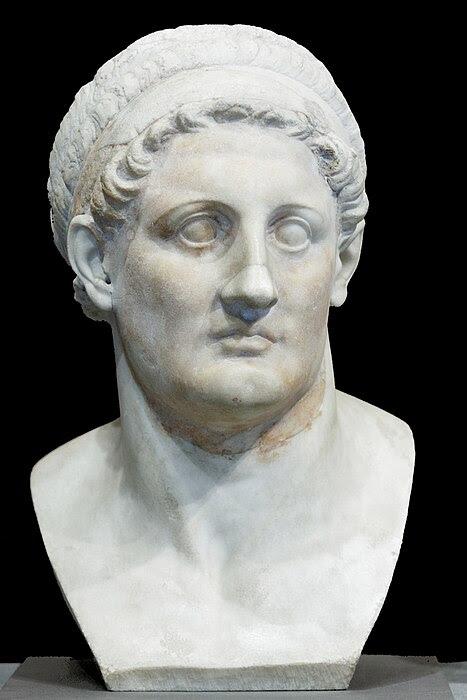 Fichier:Ptolemy I Soter Louvre Ma849.jpg
