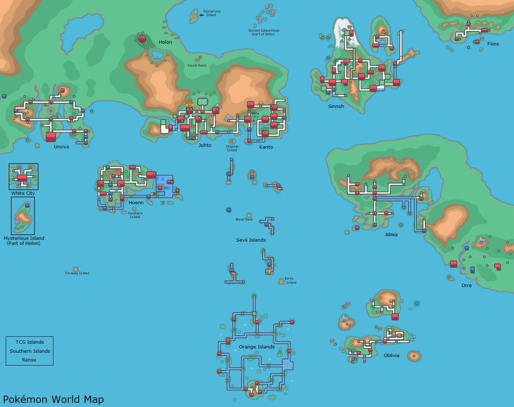 Pokemon world map by drbig47 on deviantart gumiabroncs Images