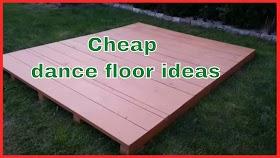 Cheap Outdoor Dance Floor Ideas Background