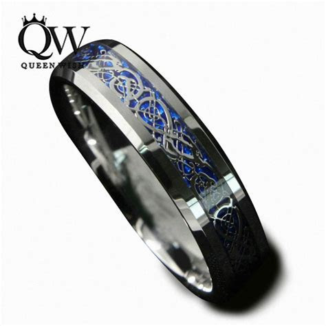 Aliexpress.com : Buy Queenwish 6mm Blue Silvering Celtic