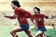 El mayor éxito de la selección en los 70... el gol de Rubén Cano.