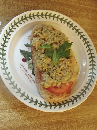 Mock 'Tuna' Salad Sandwich