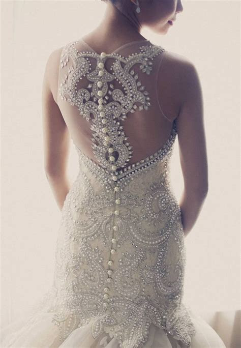 Veluz wedding dress back details   Wedding Dresses