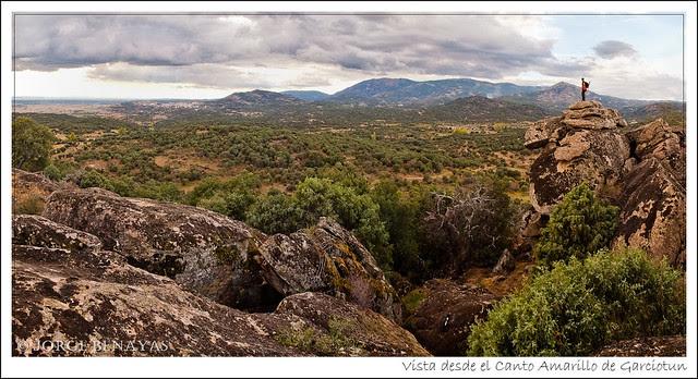 Vista desde el Canto Amarillo de Garciotun